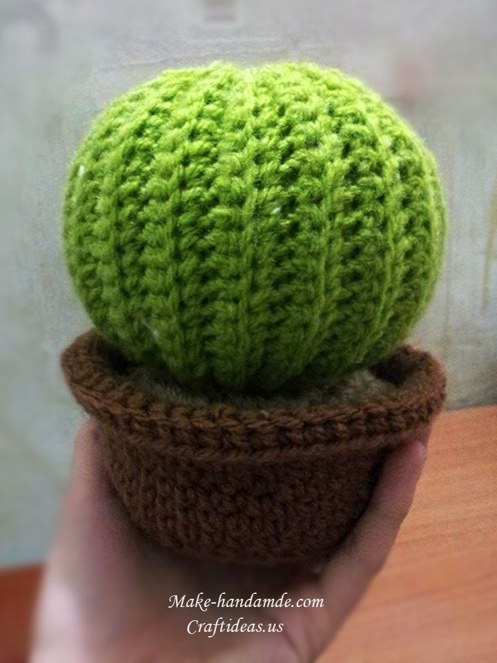 Free Crochet Pattern For Cactus : 17 Best ideas about Crochet Cactus on Pinterest ...