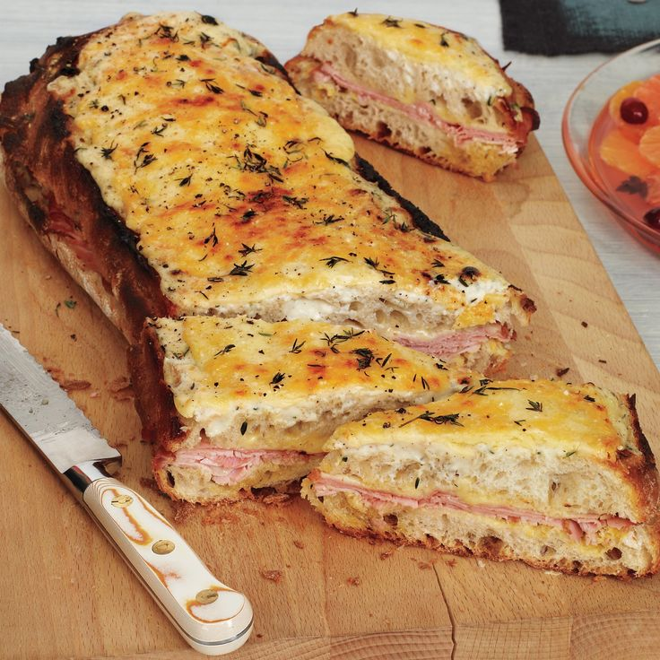 Croque Monsieur -- Looking for a Gruyere substitute? Give Fontina, Comte, or even a sharp cheddar a try.