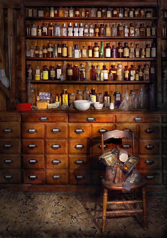 apothecary--just-the-usual-selection-mike-savad.jpg 634×900 pixels