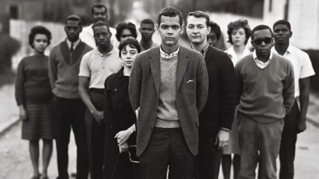 Julian Bond and members of the SNCC in 1963. | The fight for voting rights was always a key cause for Julian Bond over his distinguished life. He became one of the most well known politicians in America, but that didn't stop Bond from continuing the painstaking, unglamorous work of democratizing the South. Protecting voting rights today would be a fitting way to honor Julian Bond's remarkable civil rights legacy. | Bill Moyers