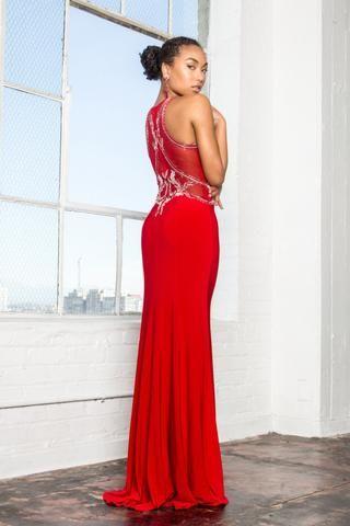 39c69cb84b2 Long red formal dress gls 1357-Simply Fab Dress | Simply Fab Dress ...