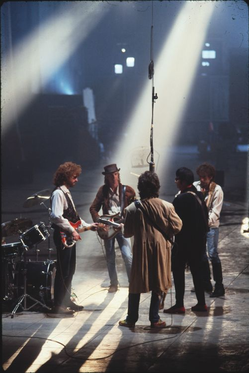 The Traveling Wilburys ... love the music these fellas made...the best!