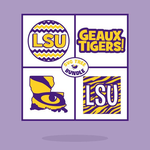 Tiger Svg Geaux Tigers Louisiana Bundle Svg Files