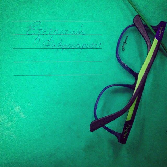 Ξεκίνησε η #exetastiki σας? Καλό διάβασμα & καλή επιτυχία! #exams #reading #goodluck #glasses #sunglasses #sunnies #shades #frames #opticametaxas #athens #pepejeans #pepe #london #γυαλιά #εξεταστική