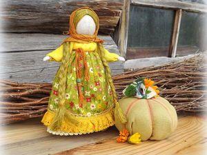 Мастер-класс: кукла-настроение «Тыковка» своими руками - Ярмарка Мастеров - ручная работа, handmade