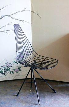 Best 25 Wire Chair Ideas On Pinterest White Desk Chair