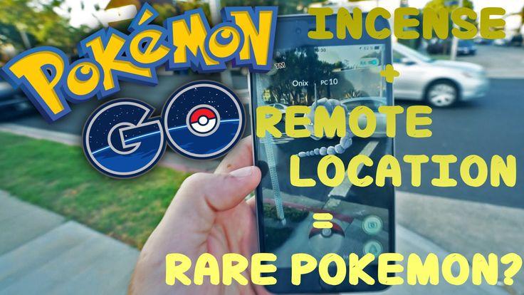Incense remote spot rare pokemon i hardly think so