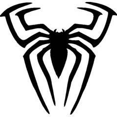 SPIDERMAN SPIDER STENCIL