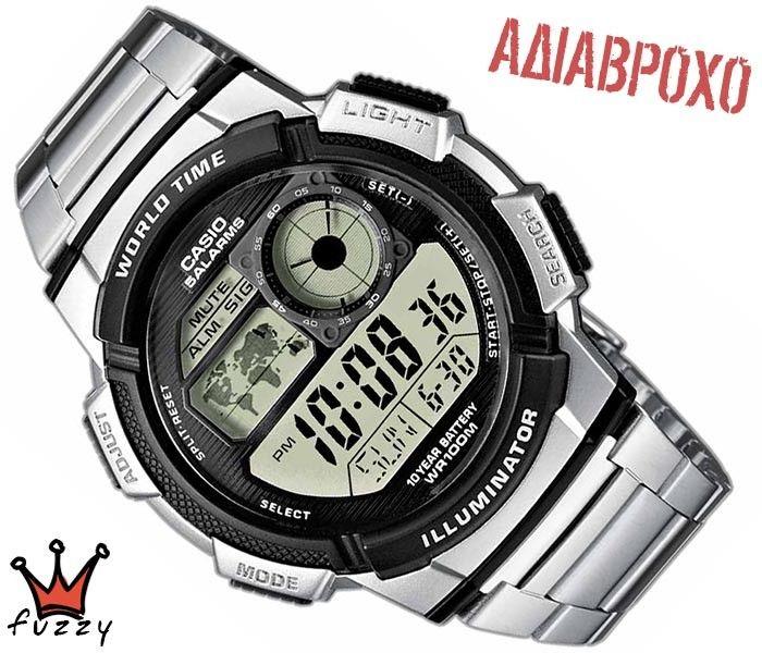 Ρολόι ανδρικό Casio (AE-1000WD-1AVEF)
