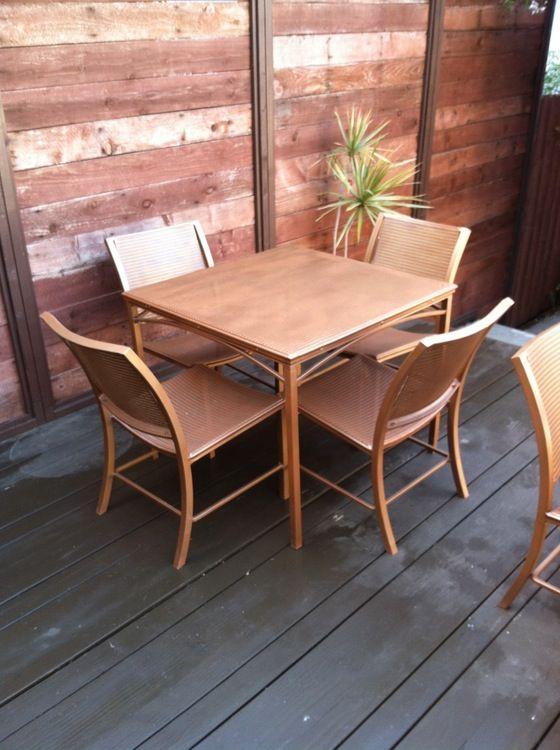 1960's Jordan Regent series outdoor patio furniture .