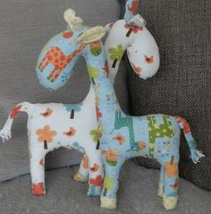 Animals to Make with Fat Quarters #FatQuarters #Sewing by Claire for Prints to Polka Dots