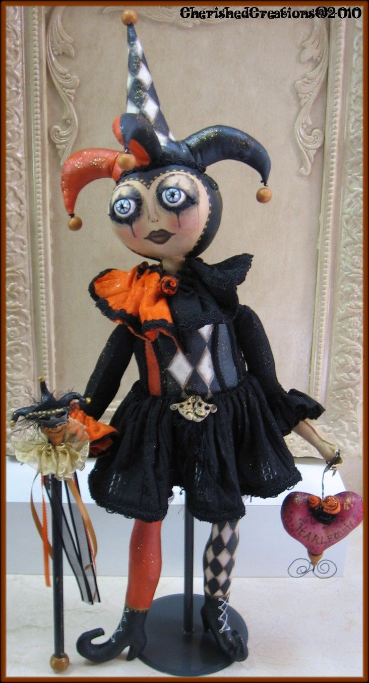 Deep Love Studio: Harlequin Jester doll