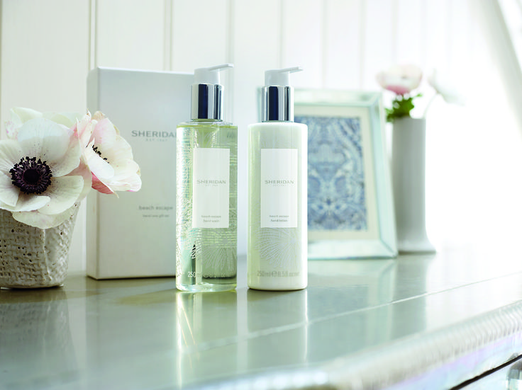 Sheridan Scent Collection.