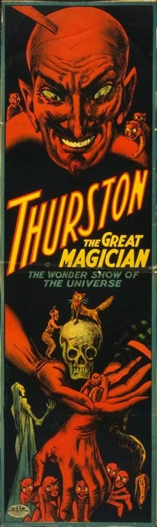 1914 Howard Thurston Devil Magic Poster