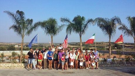 Agriblea scelta come meta di una delegazione dell'Universita' della Florida - foro di gruppo