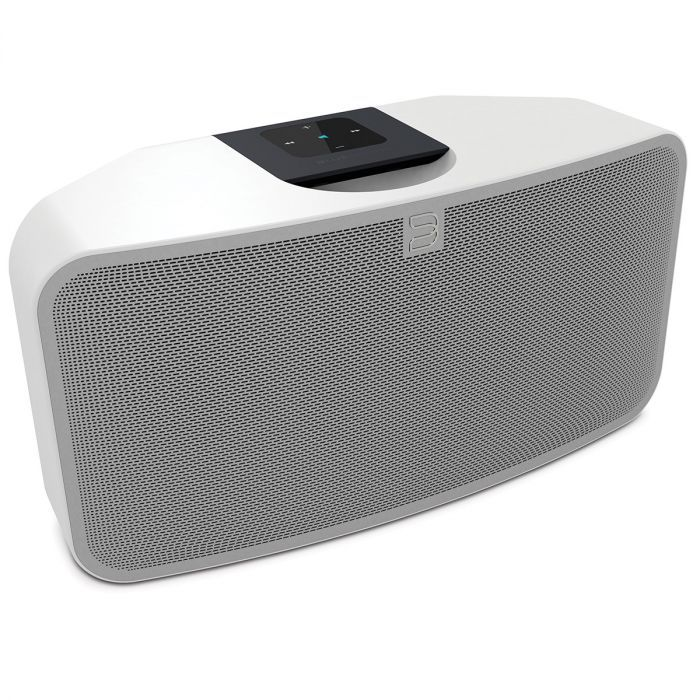 Bluesound has shrunk down the footprint, without compromising the performance. Put a PULSE MINI on any bookshelf, countertop or end table, and hear the difference that 50 Watts of bi-amplified stereo sound delivers to your ears.Simple setup, easily expandable and portable Stream your digital music to anywhere in your home Connect to and access internet radio stations and cloud music services Integrated high-performance speakers Innovative Digital amplifier aptX® Bluetooth wireless built-in…