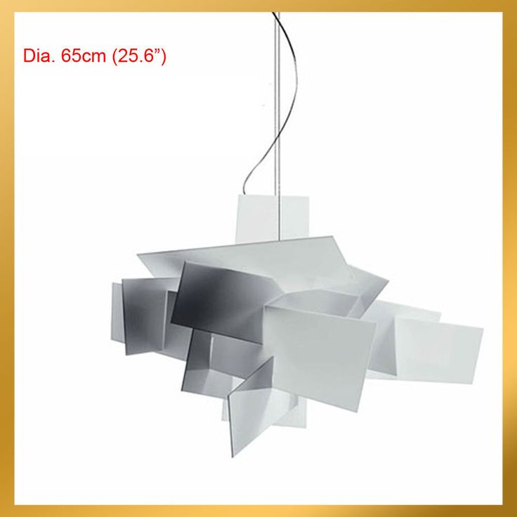 Ø 65cm Modern Small Big Bang Suspension Light Pendant Ceiling Lamp Chandelier | eBay