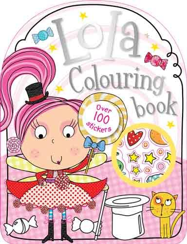 Lola Colouring Book