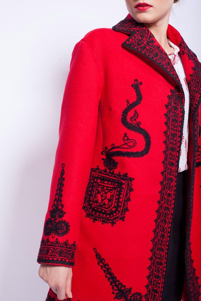 #traditionalcoat #RomanianLabelCoat