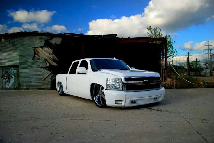 Dropped Chevy Truck