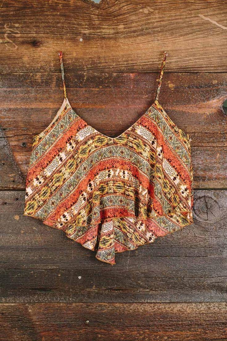 Autumnal Equinox Crop Top, Nectar Clothing