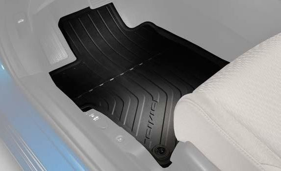 2013 2015 Honda Civic 2 Door All Season Floor Mats Black Set Of 3 Wish List Pinterest