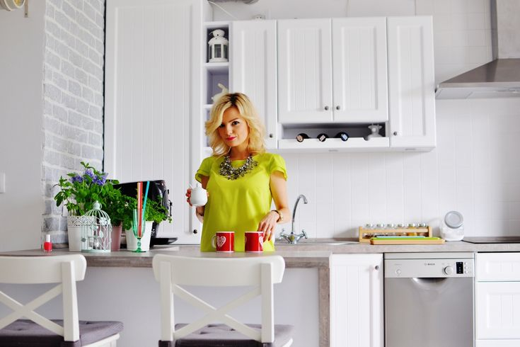 Nasza nowa biała kuchnia - kuchnia prowansalska