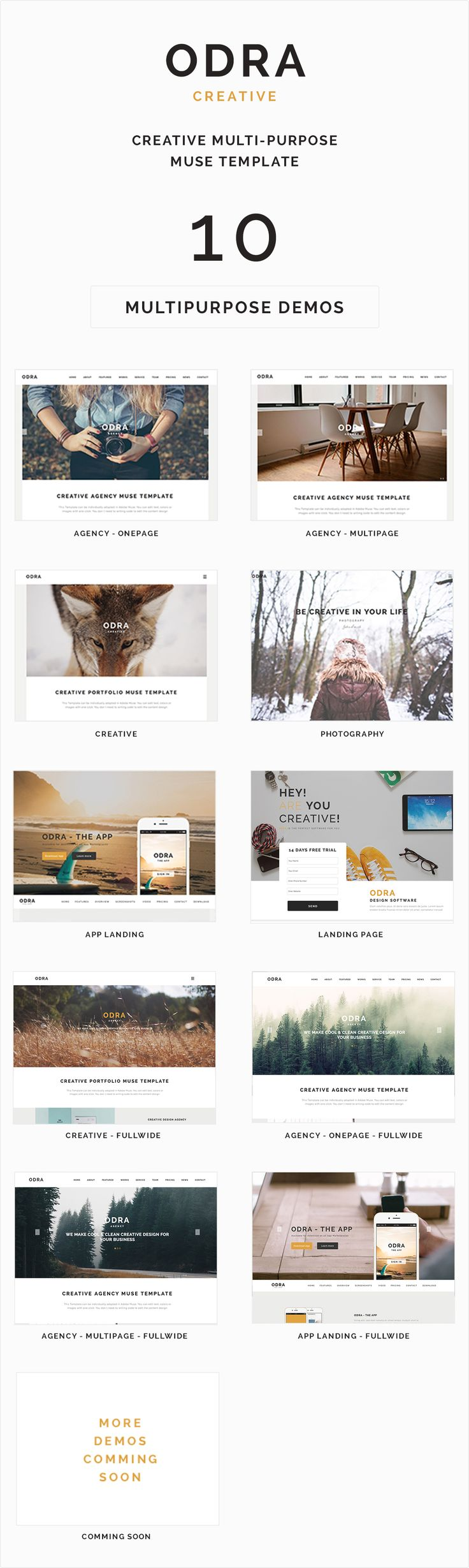 The 24 best Muse Template images on Pinterest | Adobe muse, Website ...