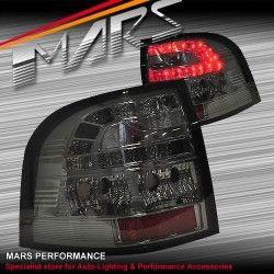 Smoked LED Tail lights for Holden Commodore VE UTE Series 1 & 2 | Mars Performance