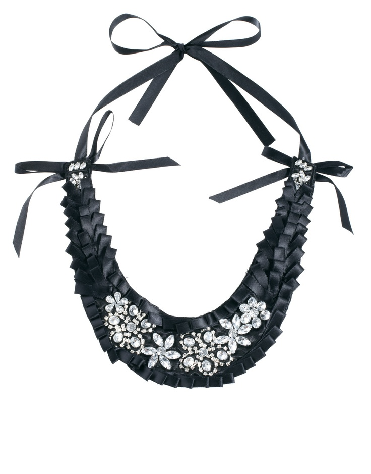 Adele Marie Jewelled Bib Necklace: Gaudy Bling, Marie Jewelled, Collars Brooches Necklaces, Baubles, Jewelled Bib, Bibs, Bib Necklaces