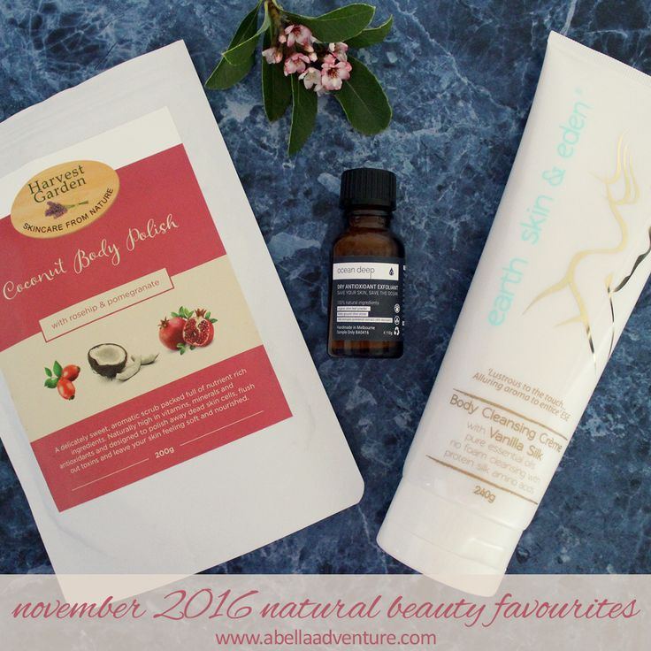 November 2016 Natural Beauty Favourites | A Bella Adventure | http://www.abellaadventure.com/beauty/november-2016-natural-beauty-favourites/