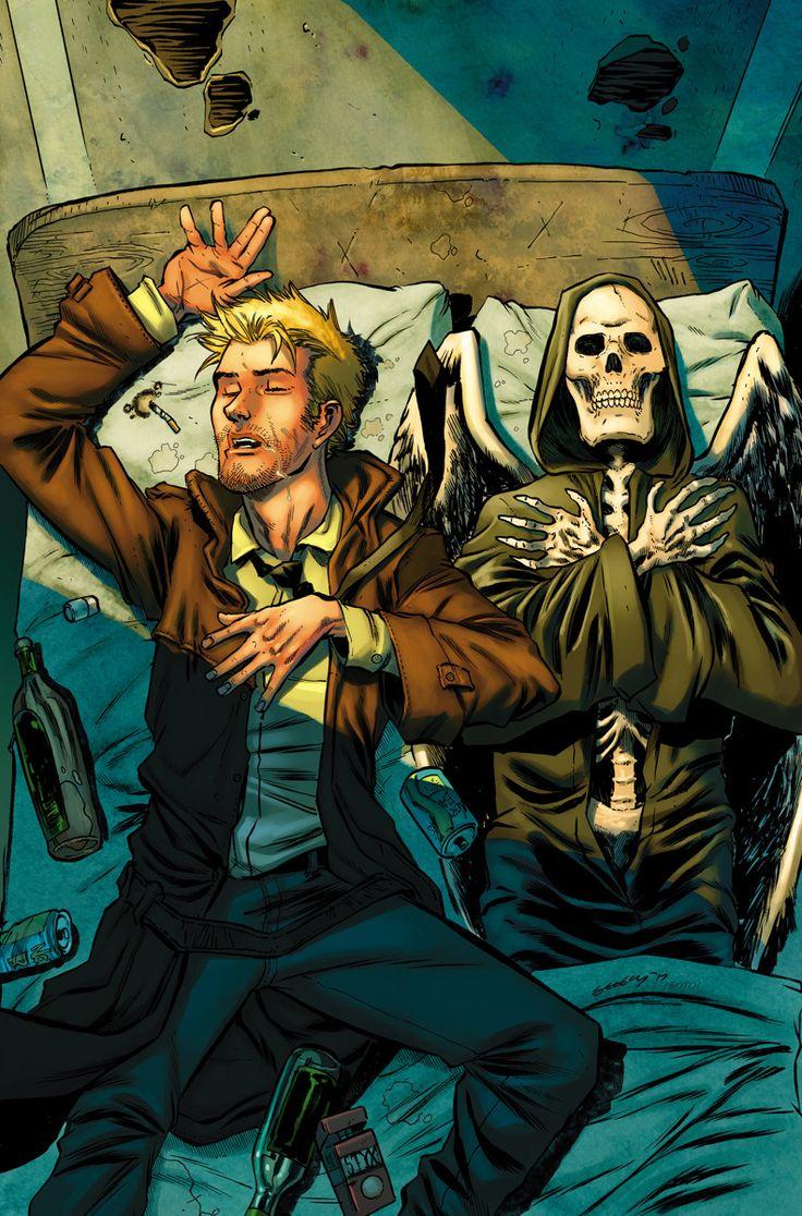 "league-of-extraordinarycomics: ""John Constantine by TIM SEELEY """