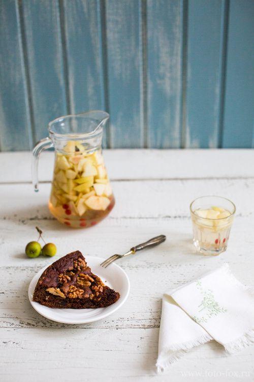 шоколадный домашний пирог
