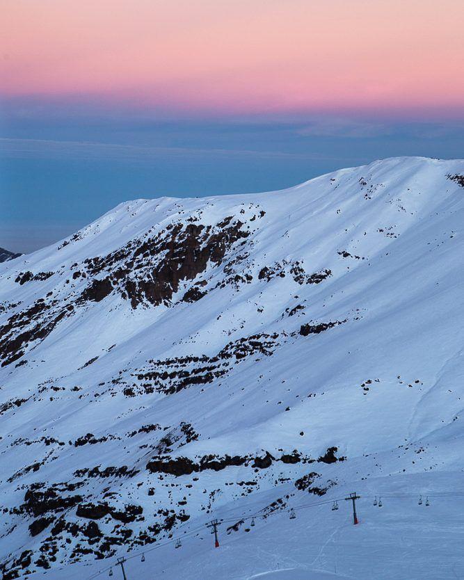 Amanhecer no Valle Nevado no Chile #NerdsNoValleNevado #NerdsNoChile #ValleNevado #Latam #B4T #Turistik #GTA