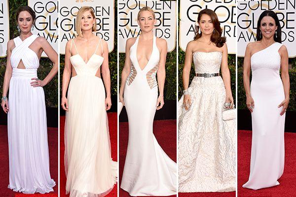 Golden Globes red carpet: Trend-spotting