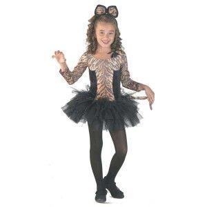 Τίγρη στολή για κορίτσια