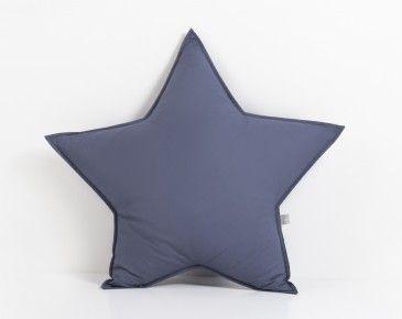 Stjerne pute – Mørk blå