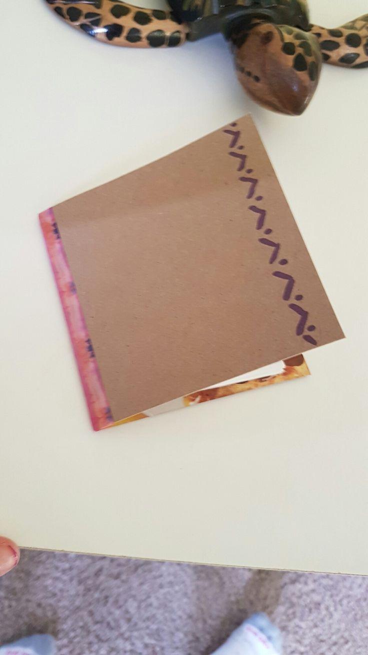 Pretty note book