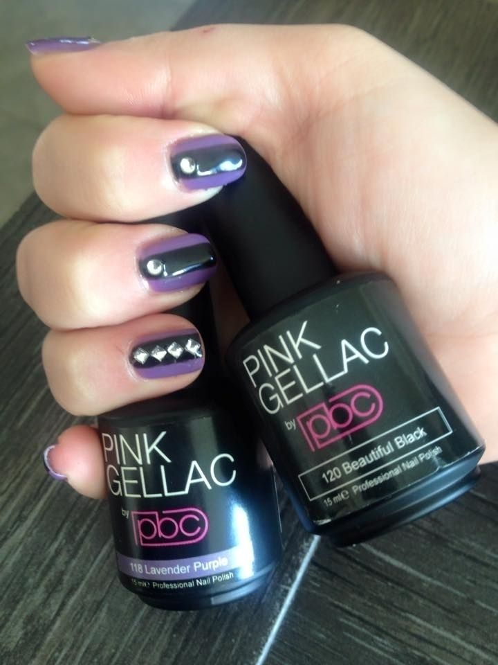 Pink Beauty Club shared Elke Meire's photo. Beautiful black and lavender purple