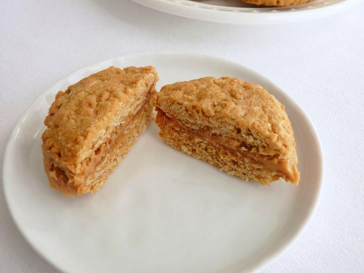 Oatmeal Peanut Butter Sandwich Cookies | Cookies | Pinterest | Oatmeal ...