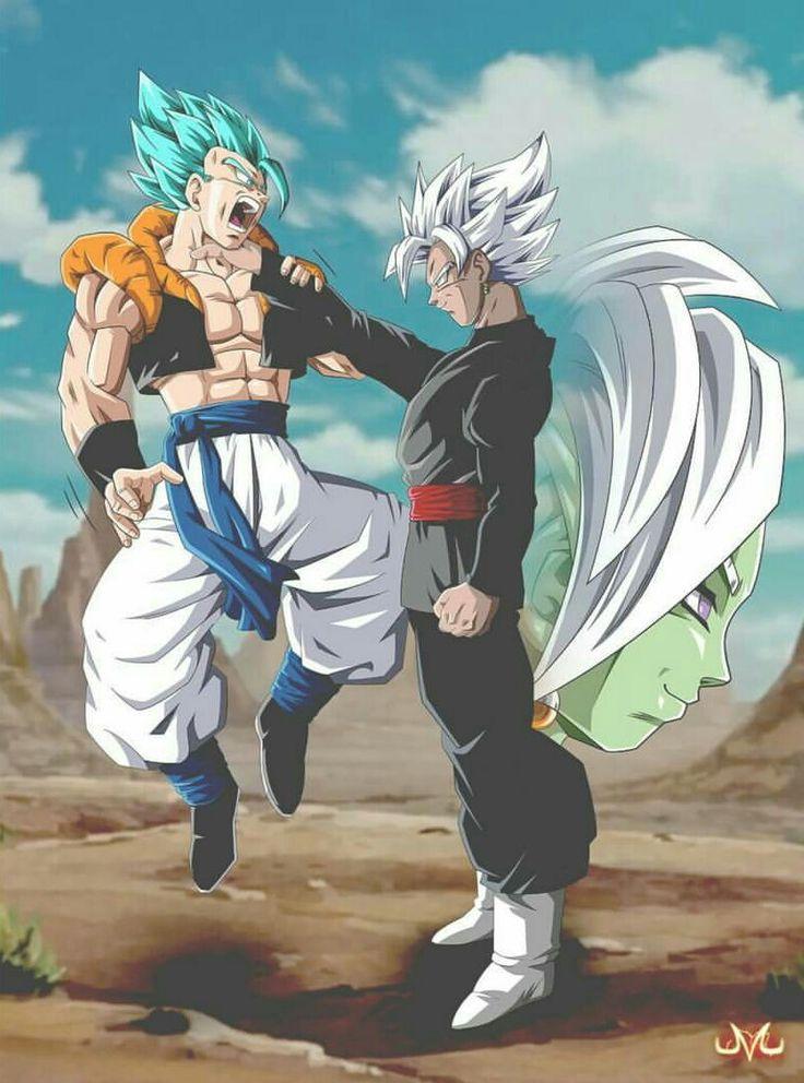 Gogeta Vs Black Dragon Ball Gt Drachen Goku
