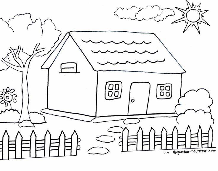 Mewarnahttp://gambarmewarnai.com/wp-content/uploads/2013/01/mewarnai-gambar-rumah.jpgi Gambar Rumah