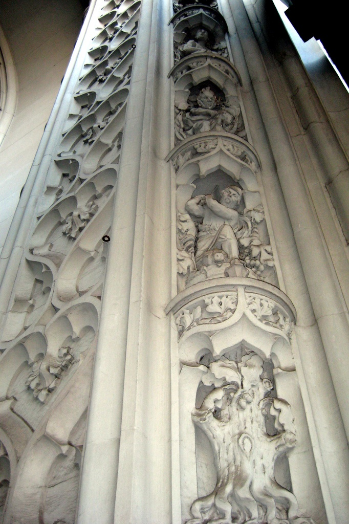 NYC - Woolworth Building detail, built 1913