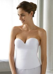 This Longline Bra From Felina Has A Smooth Seam Free Foam Bodice For Shape And Support Bridal CorsetBridal
