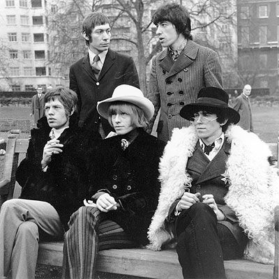 Mick, Brian, Keith, Charlie and Bill : the Rolling Stones, 1967...idols of my youth...