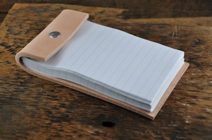 Leather Desk Pad. $14.00, via Etsy.