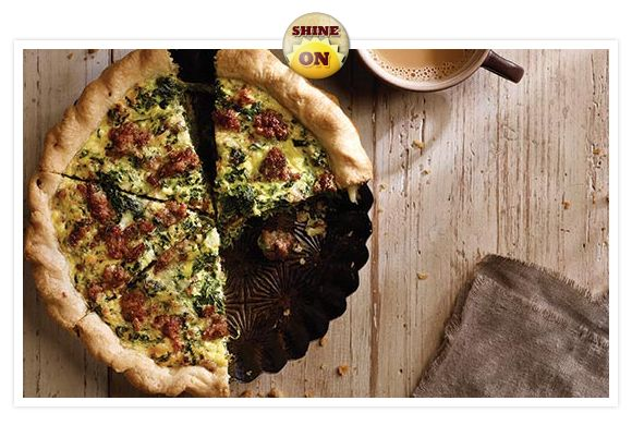 Jimmy Dean | Sausage and Spinach Quiche