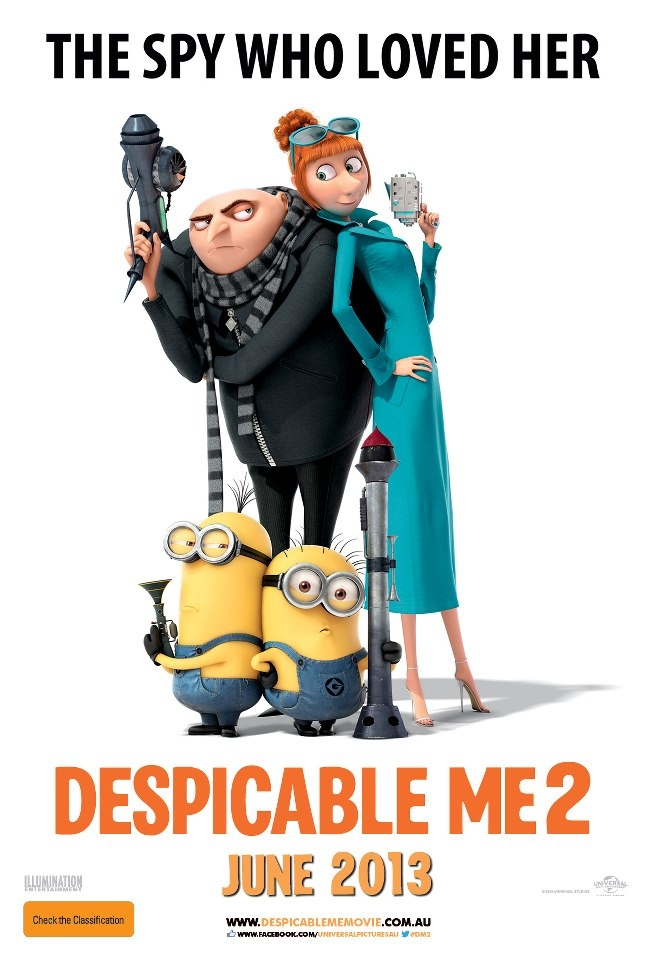 despicable me 2 | DESPICABLE ME 2 The Latest Movie Posters