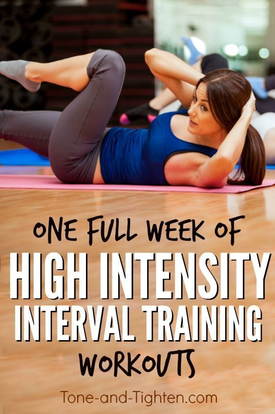 free at home hiit interval training workouts.