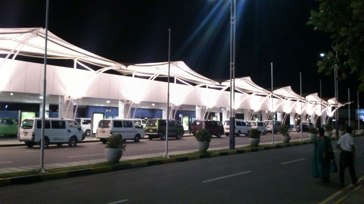 Bandaranaike International Airport (CMB) in Katunayaka North, Western